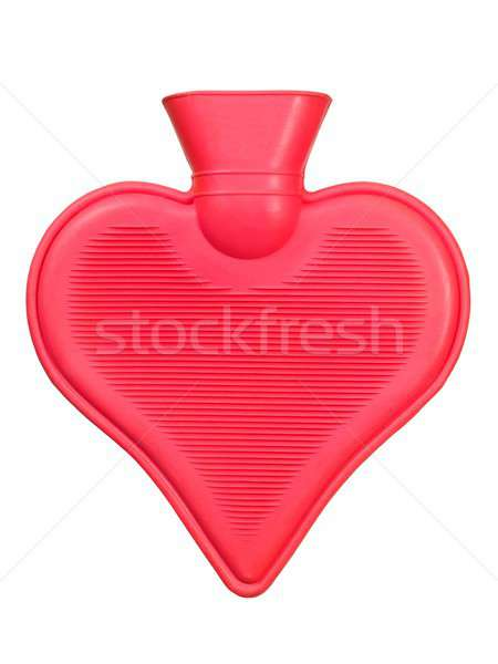 Rubber hot water bottle Stock photo © ajt