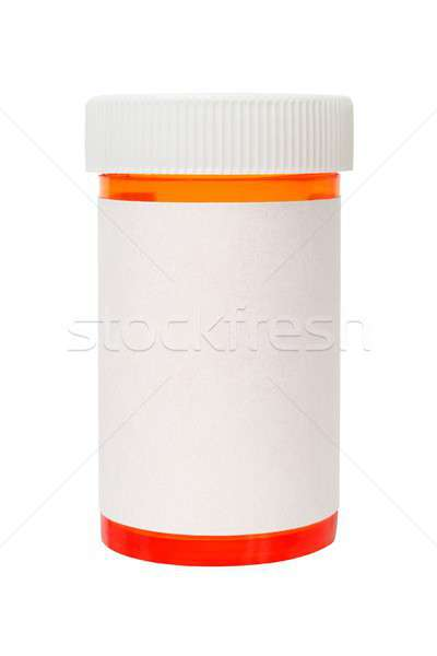 Bottle with pills Stock photo © ajt