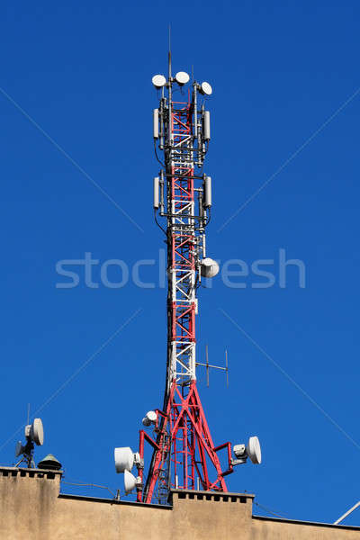 GSM Antennas Stock photo © ajt