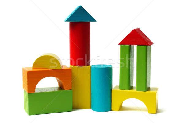Wooden blocks Stock photo © ajt