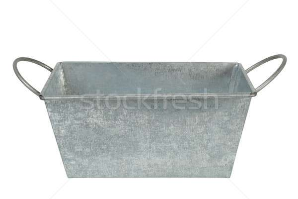 Metal container on white Stock photo © ajt