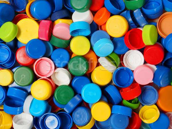 Schroef afval plastic fles klaar recycling Stockfoto © ajt