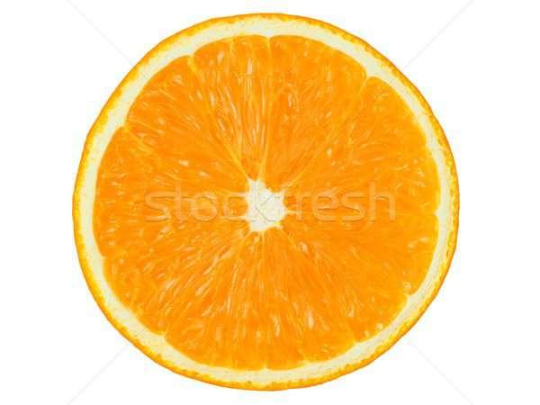 オレンジ 白 孤立した ストックフォト © ajt