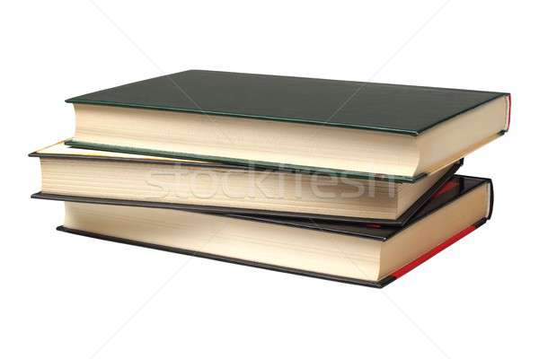 Livres court isolé blanche Photo stock © ajt