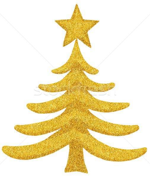 Christmas decoration on white Stock photo © ajt