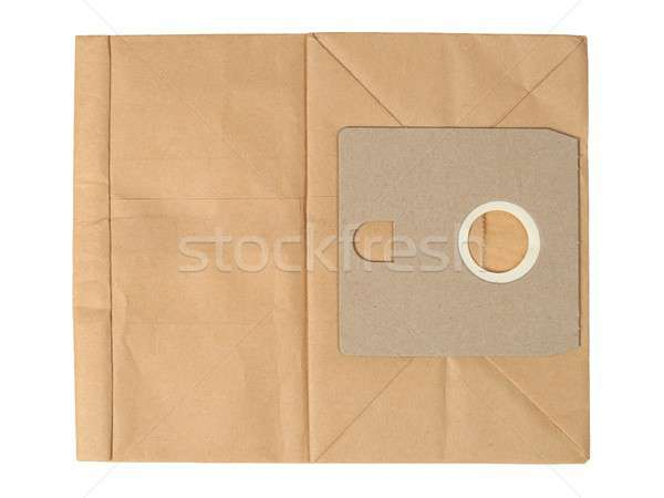 Paper bag for vacuum cleaner Stock photo © ajt