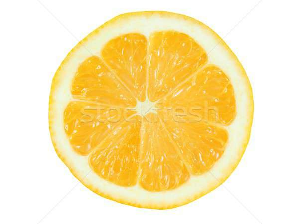 Witte sappig geïsoleerd vruchten Geel Stockfoto © ajt