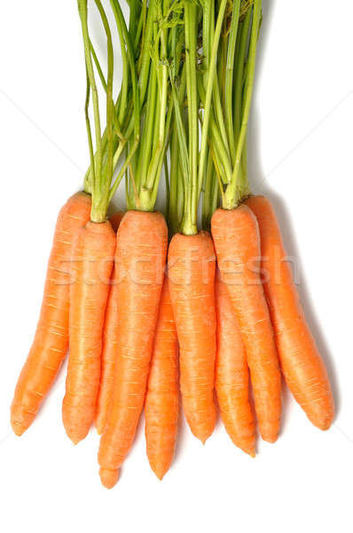 Bunch of carrots Stock photo © ajt