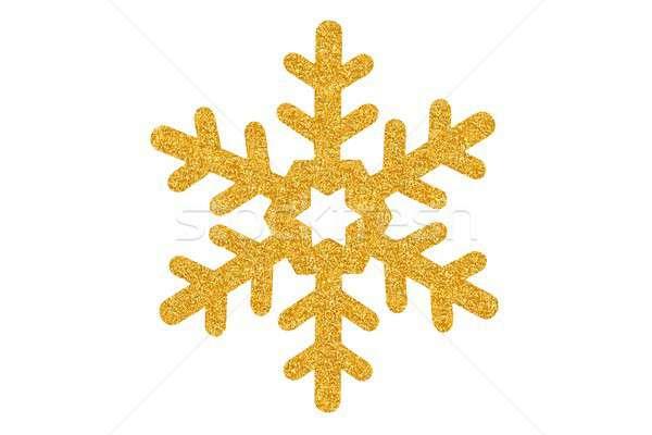 Christmas star on white Stock photo © ajt