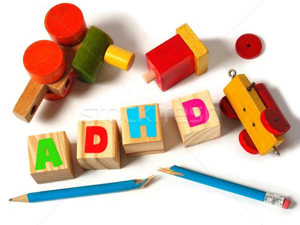 ADHD concept with toys Stock photo © ajt