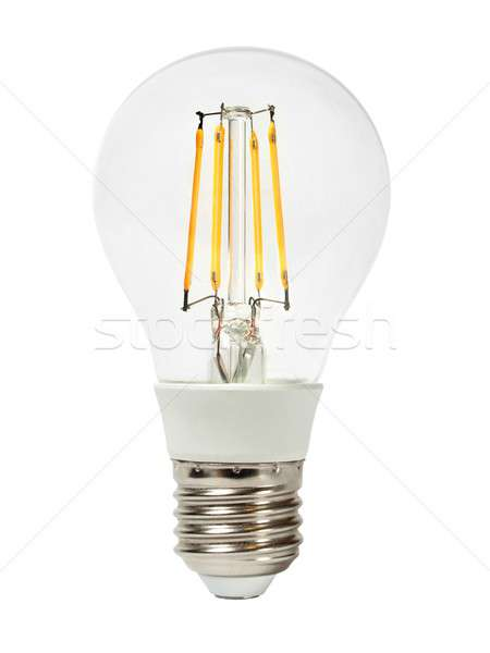 LED bulb on white Stock photo © ajt