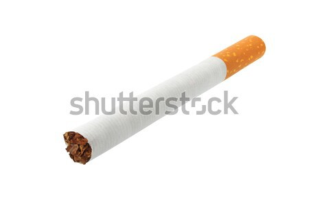 たばこ 白 孤立した 健康 煙 喫煙 ストックフォト © ajt