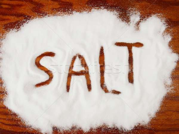 Spilled salt Stock photo © ajt