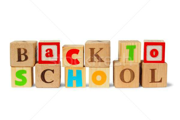 Back to school Stock photo © ajt