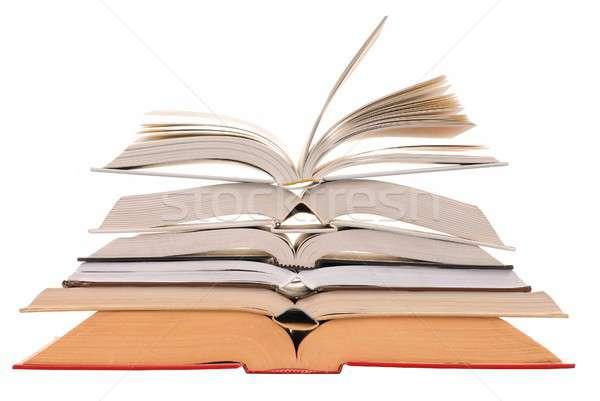 Open Books Stock photo © ajt