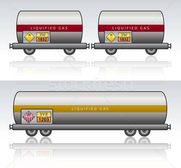 ワゴン 列車 危険 液体 緊急 アクション ストックフォト © akaprinay