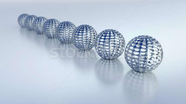 3d illustration kwaliteit geven zachte schaduw achtergrond Stockfoto © akaprinay