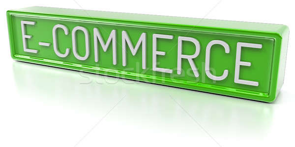 E-Commerce - Isolated 3D Render Stock photo © akaprinay