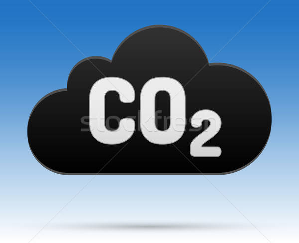 00268-co2-cloud-black Stock photo © akaprinay
