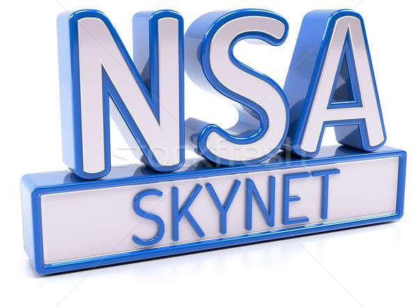 NSA SKYNET Stock photo © akaprinay