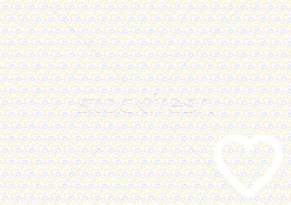 Coeur modèle couleur amour fond Photo stock © akaprinay