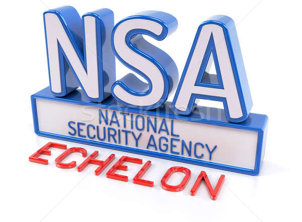 NSA Echelon Stock photo © akaprinay