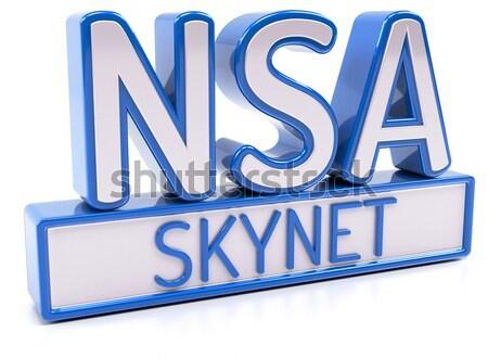 Stock photo: NSA SKYNET