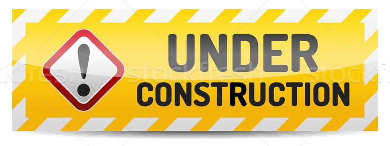 Under construction Stock photo © akaprinay