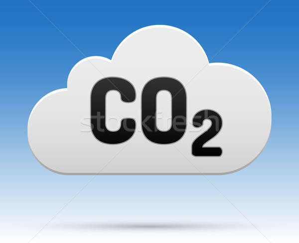 CO2 cloud Stock photo © akaprinay