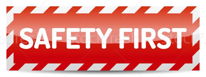 Safety first Stock photo © akaprinay