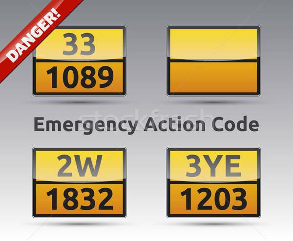 Emergency Action Code Stock photo © akaprinay