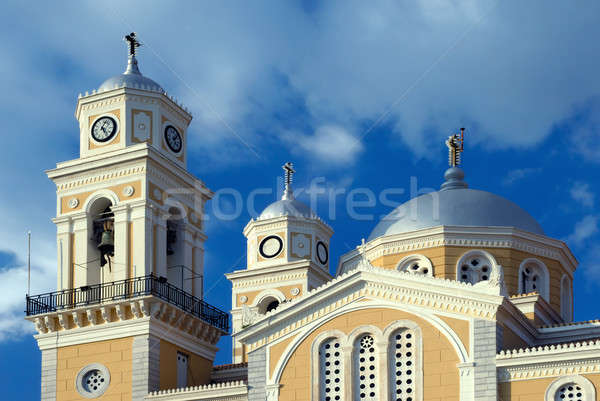 Greek orthodox cathedral in Kalamata, Greece Stock photo © akarelias
