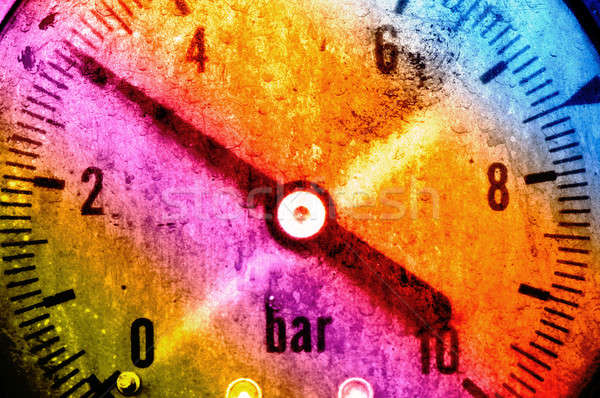 Ciśnienie obraz pracy dokumentu artystyczny Zdjęcia stock © akarelias