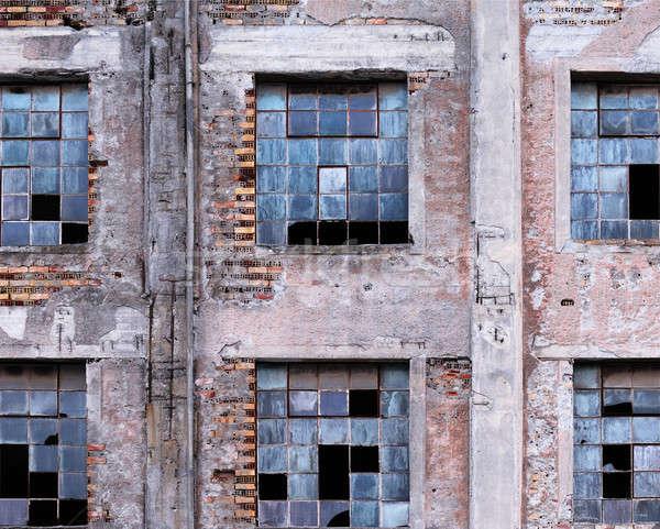 здании фотография старые завода Сток-фото © akarelias