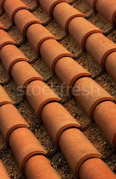 крыши изображение плитки домой фон Сток-фото © akarelias