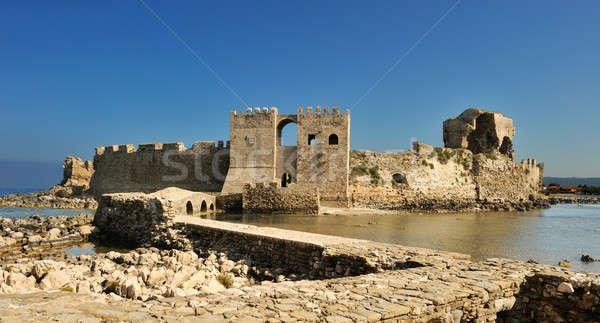城 画像 中世 ギリシャ ストックフォト © akarelias