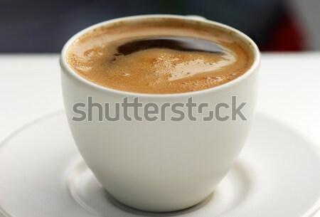 Grego café imagem copo beber estilo Foto stock © akarelias