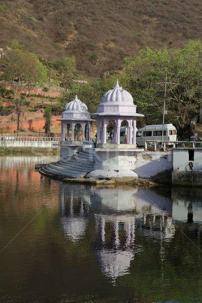 Pichola Lake in Udaipur, Rajasthan, India Stock photo © Akhilesh