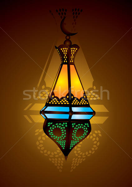 arabic lamp eid Stock photo © Akhilesh