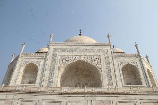 Taj Mahal externe bâtiment Inde construction Voyage Photo stock © Akhilesh