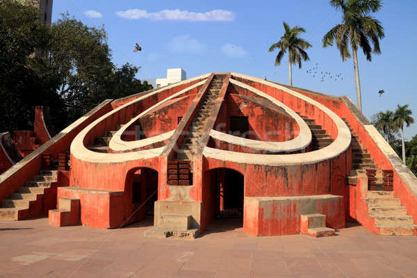 Architectural astronomie instrument new delhi architecture Inde Photo stock © Akhilesh