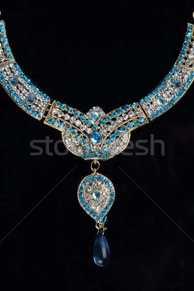Indian Traditional Jewellery Necklace Stock photo © Akhilesh