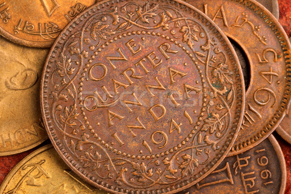 Old Indian Currency Coin One Quarter Anna Stock Photo 169 Akhilesh Sharma Akhilesh 1458533