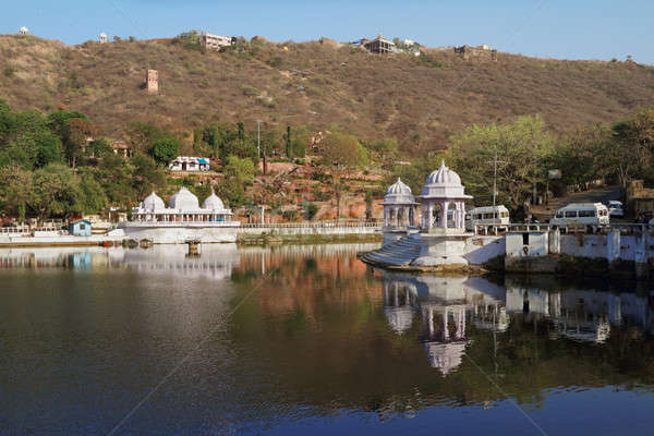 The city of Lakes - Udaipur, Rajasthan, India Stock photo © Akhilesh