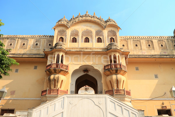 Hawa Mahal - Wind Palace in Jaipur, Rajasthan, India Stock photo © Akhilesh