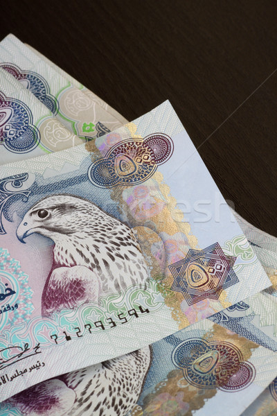 UAE currency - 500 dirhams closeup note Stock photo © Akhilesh