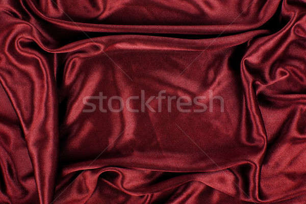 Maroon Satin Silk Velvet Cloth Fabric Background Stock photo © Akhilesh
