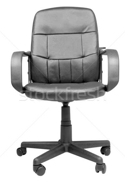Office Leather Chair isolated on white background Stock photo © Akhilesh