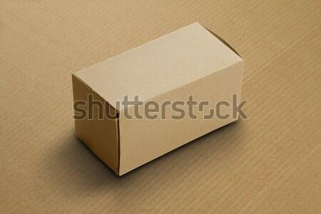 Recycle Card Board Box for Mockup Stock photo © Akhilesh