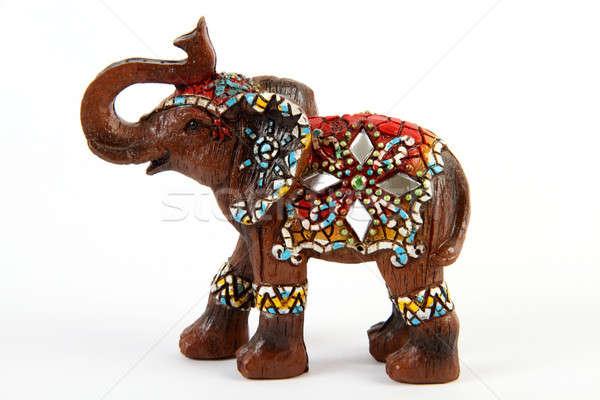 Elephant souvenir / decor Stock photo © Akhilesh